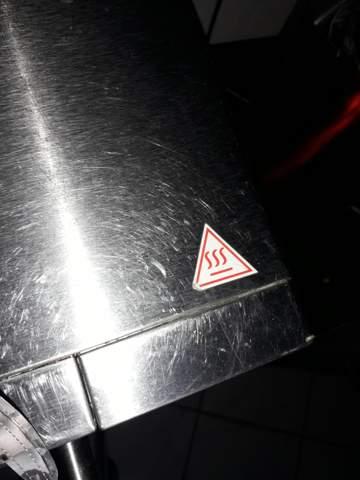 Was bedeutet dieses Symbol auf der Mikrowelle?