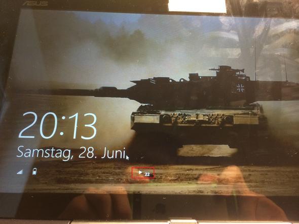 Sperrbildschirm - (Windows 8, Windows 8.1, Sperrbildschirm)