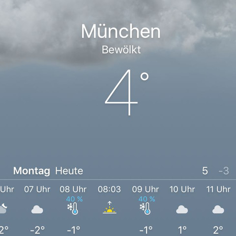 Wetter App Apple Yahoo Thermometer Schnee - (Apple, Wetter, Schnee)
