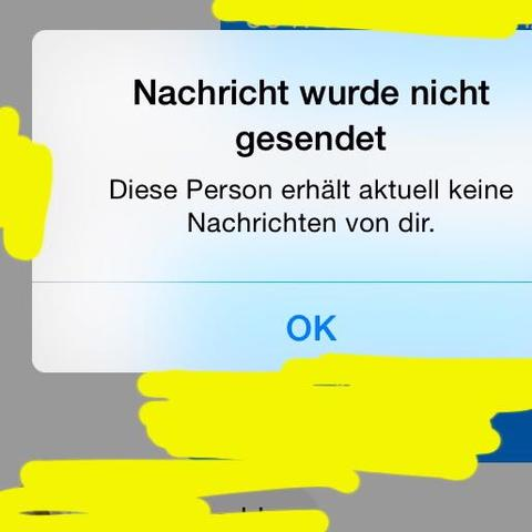 facebook messenger nachricht nicht zugestellt
