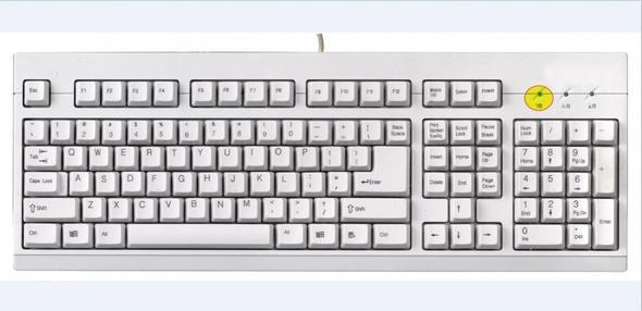 Tastatur Zeichen