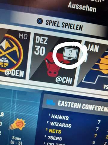 Was bedeutet dieses Zeichen in NBA 2K21?