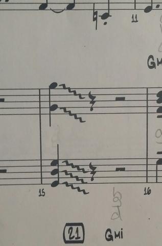 Das Zeichen rechts nach der note - (Musik, Noten, Klaviernoten)