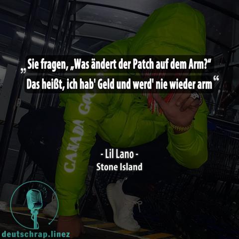Was Bedeutet Dieses Zitat Von Lil Lano Musik Deutsch Rap