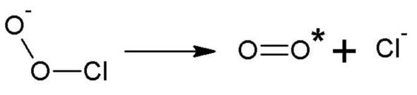 Teil eines reaktionsmechanismus - (Chemie, Naturwissenschaft, Reaktion)