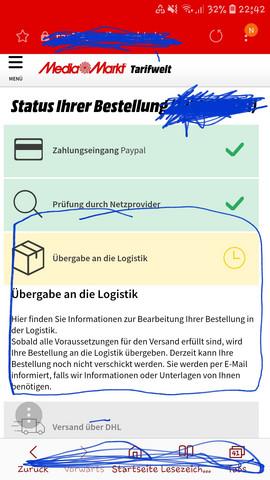 - (Bestellung, Paket, DHL)