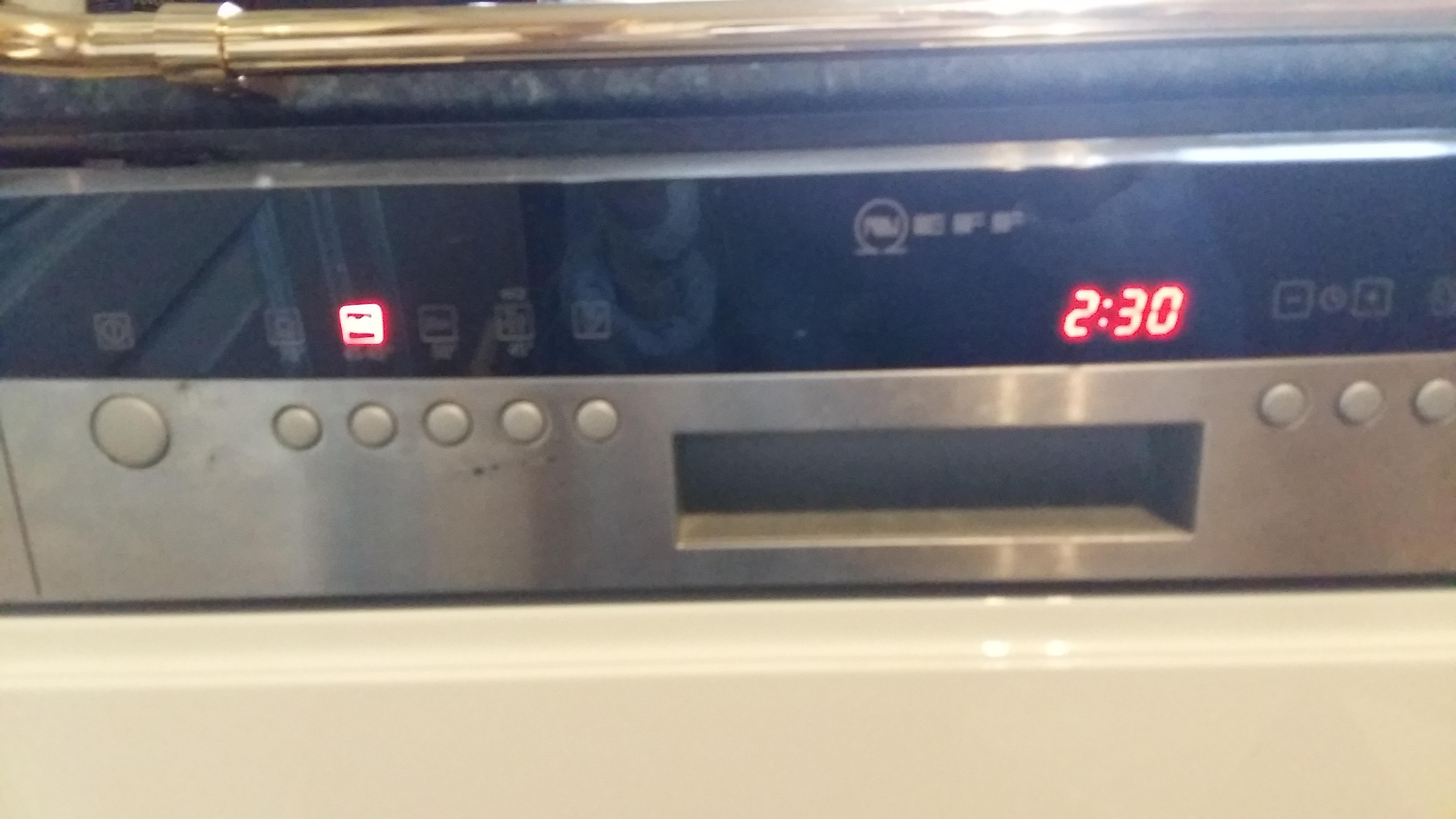 Neff Spulmaschine Fehler Wasserhahn Leuchtet Neff Geschirrspuler