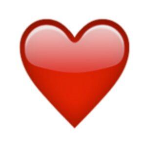 Herz bei was whatsapp rote das bedeutet ♥ Schwarzes