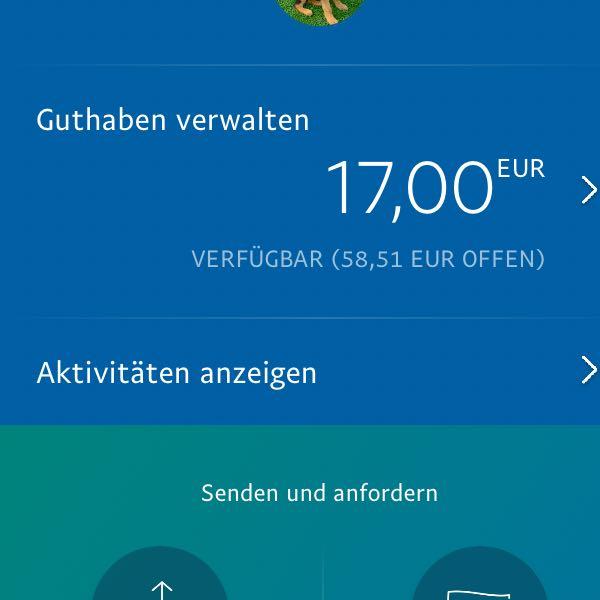Paypal Aktivität Offen