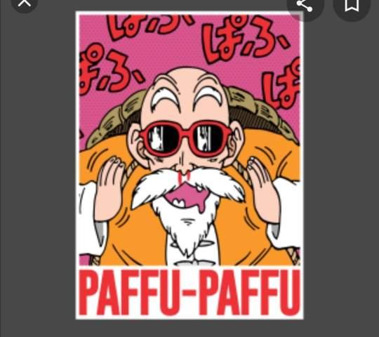 Was bedeutet paffu paffu aus dragonball?