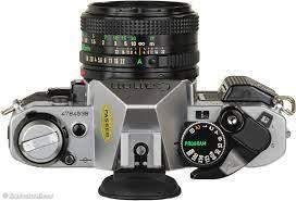 """Was bedeutet """"PROGRAMM"""" auf der analogen Canon AE1 Kamera?"""