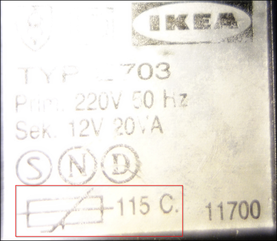 Symbole auf Steckernetzteil - (Technik, Netzteil, Symbol)