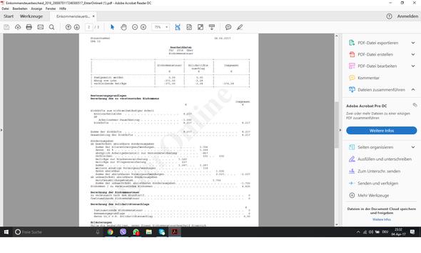 Steuererklärung - (Steuern, Steuererklärung, Student)