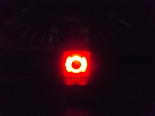 rote Leuchte - (Auto, Leuchten, BMW E36)