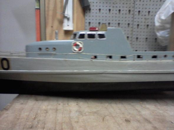 Boot Seitenansicht  - (Modellbau, Modellboot)