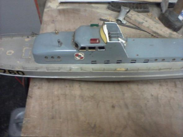 Boot Mit Verdeck  - (Modellbau, Modellboot)