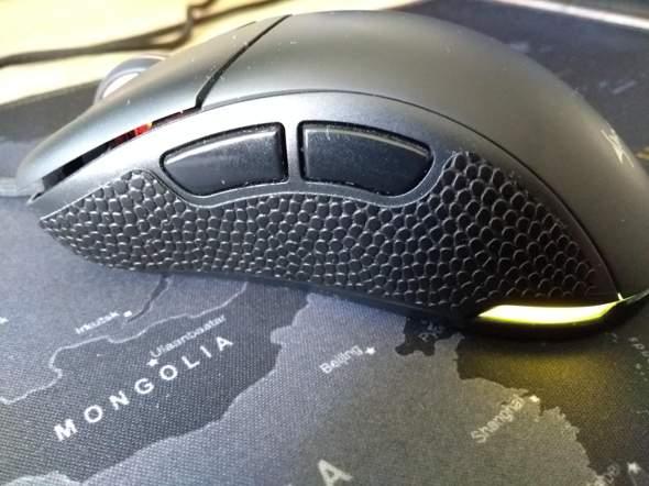Was bringen Gummigriffe an der Maus?