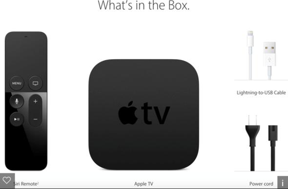 Apple TV Box - (Apple, TV, Fernsehen)