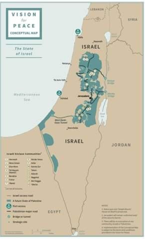 Was haltet ihr von Trumps Zwei-Staaten-Lösung (Israel