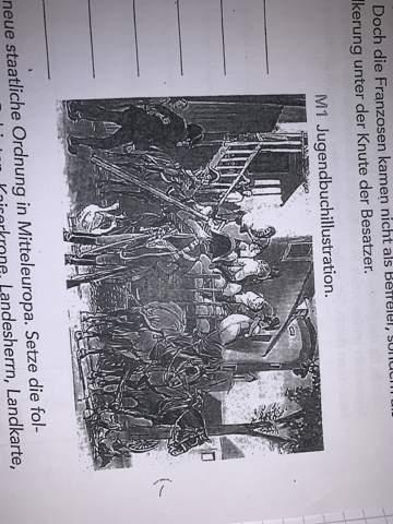 Was deutet das auf dem Bild? (Geschichte 1806)?