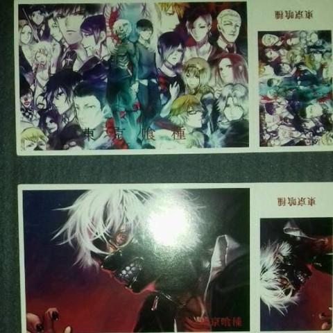Was für Anime Postkarten?