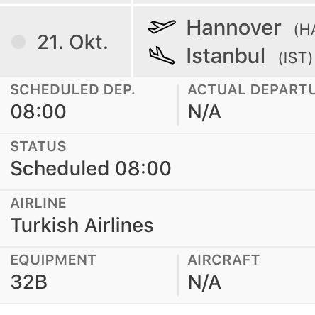 Was für ein Flugzeugtyp ist ein A32B?