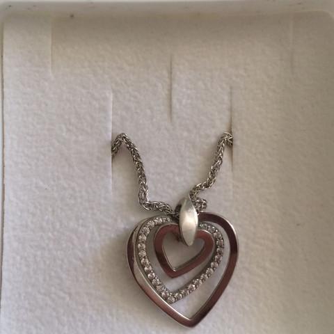 Silber 925 Kette + Anhänger - (Geschenk, Silber 925, Mädchen Geschenk)
