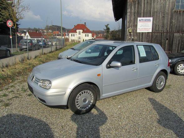 Golf 1.6 Silber - (Autokauf, VW)