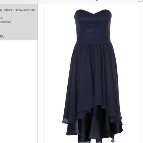 Dunkelblaues kleid  - (Kleid, Accessoires)