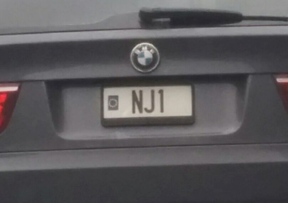 Was Für Ein Kfz Kennzeichen Ist Das Nj1