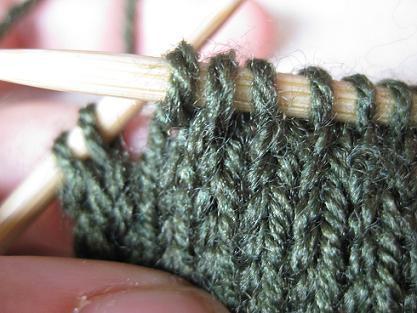 Was Für Ein Muster Muss Man Stricken Wenn Sich Der Schal Nachher
