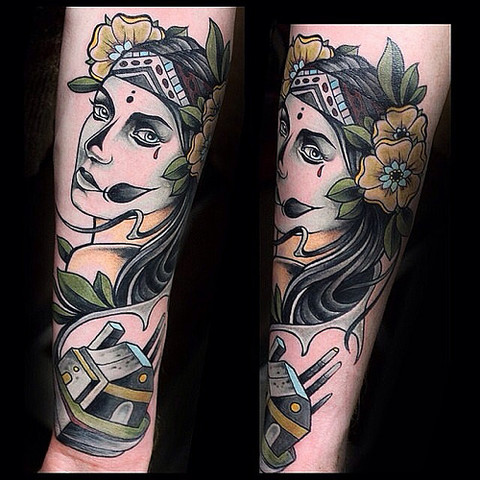 Tattoo2 - (Tattoo, Tätowieren, Tätowierung)