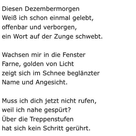 Gedichte fur deutsch