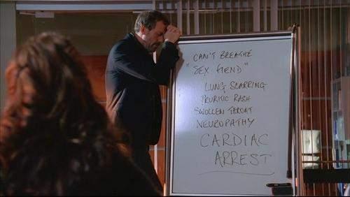 Was für ein Whiteboard benutzt Dr. House?