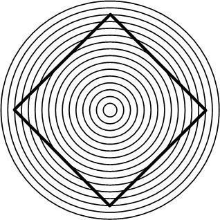 was f r eine art von opt t uschungen ist das quadrat im kreis siehe bild physik optik. Black Bedroom Furniture Sets. Home Design Ideas