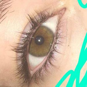 Das ist das erste - (Augen, Farbe, braun)