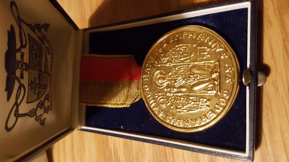 Was für eine Medaille ist das?