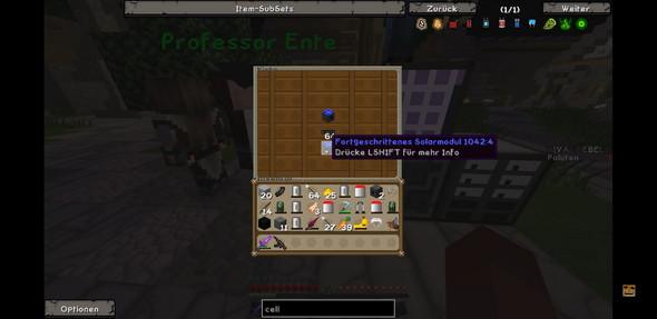 Was für eine Minecraft Mod ist das?