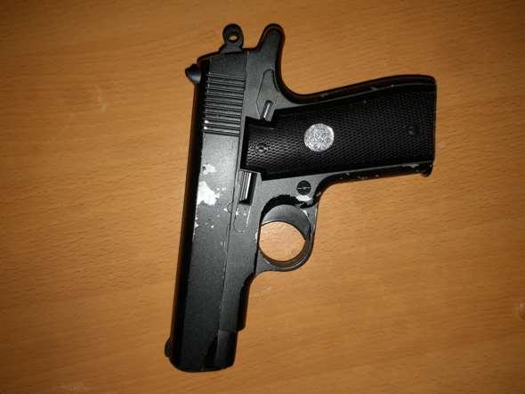 Was für eine Pistole ist das?