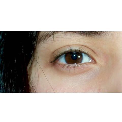 Das ist meine Augenfarbe  - (Technik, braun, blau)