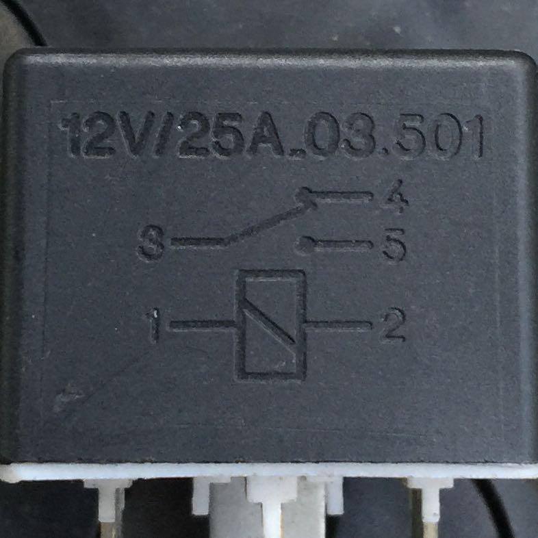 Was genau bedeutet dieses Schaltzeichen auf einem Relais? (Auto ...