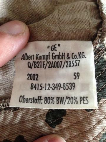 GE? - (Bundeswehr, Versorgungsnummer)
