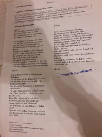 Das Lied hier^^ - (Lied, deutsch)