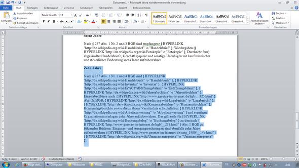Wordproblem - (Technik, Text, EDV)
