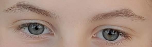 Was habe ich für eine Augen Farbe?