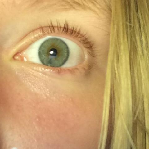 Ich gucke irgendwie an der Kamera vorbei :D - (Augen, blau, grün)