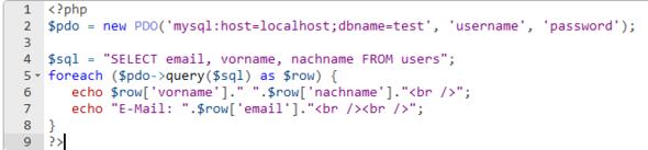 Bild 1 - (programmieren, Fehler, Website)