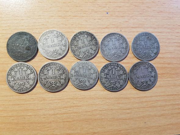 Was Haben Diese Münzen Für Ein Wert Siehe Bild