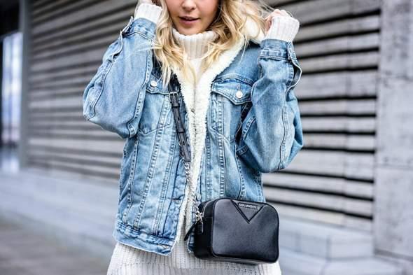 Was hält ihr von solchen gefütterten Jeansjacken im Winter? Findet ihr solche Jacken sind passend für den Winter?