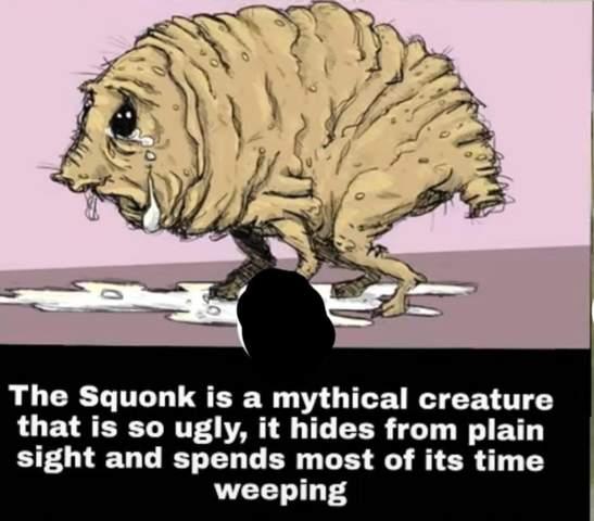 Was hältst du von dieser Kreatur?